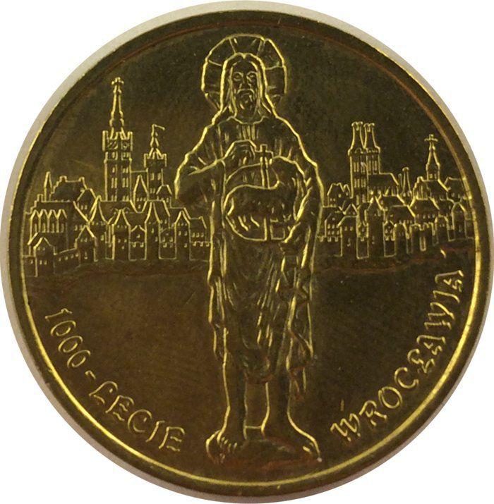 """Монета """"1000-летие Вроцлава"""""""