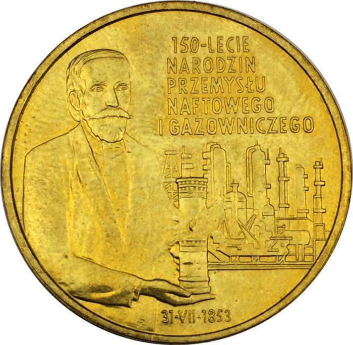"""Монета """"150 лет газово-нефтяной промышленности"""""""