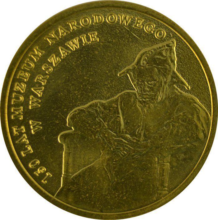 """Монета """"150 лет Национальному музею в Варшаве"""""""