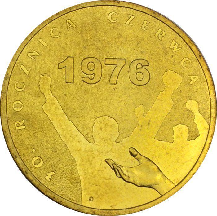 """Монета """"30 лет событиям июня 1976 года"""""""