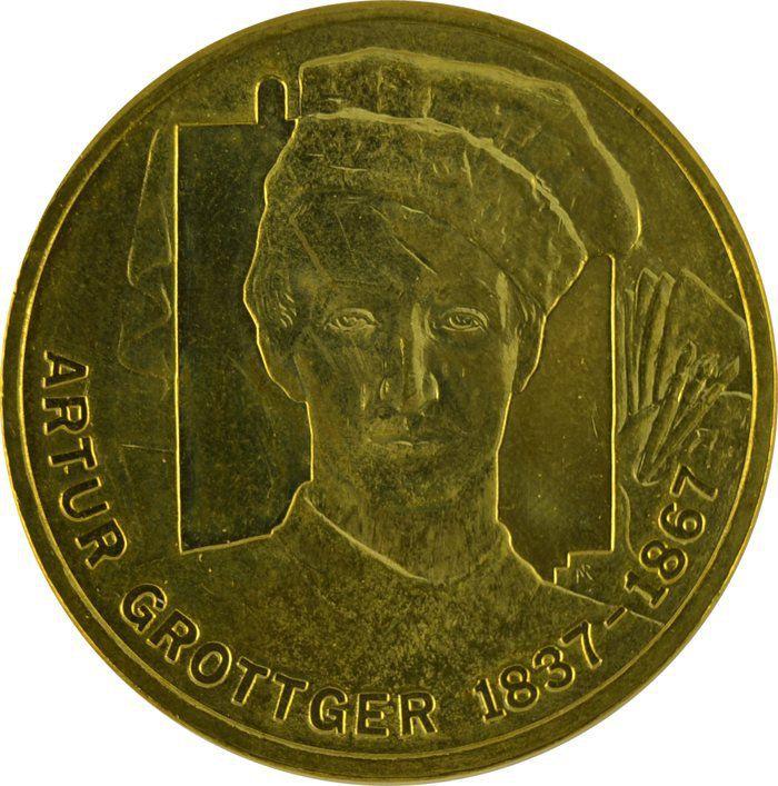 """Монета """"Артур Гротгер"""""""
