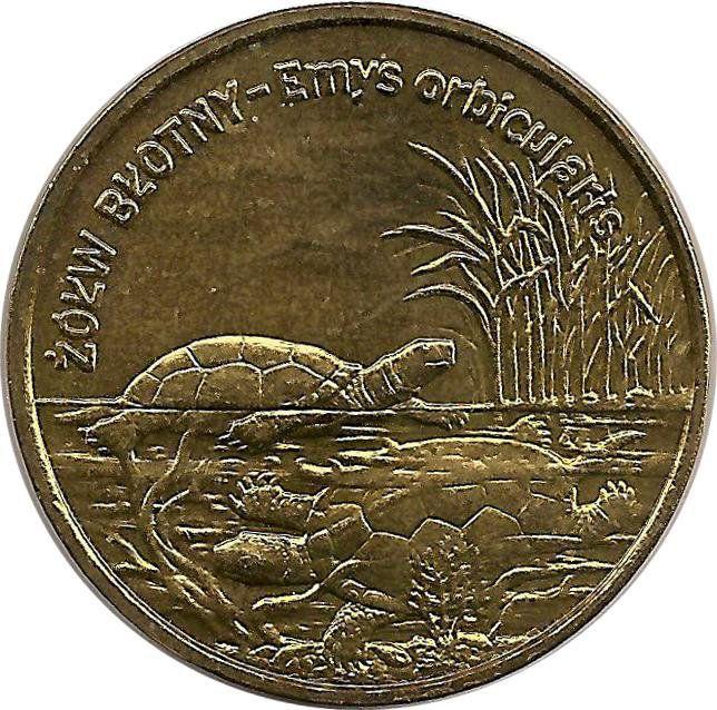 "Монета ""Болотная черепаха"""