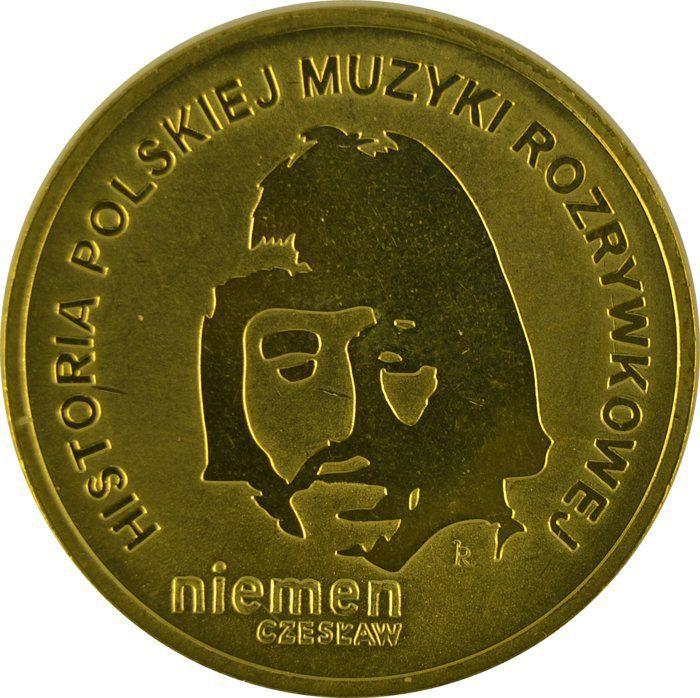 """Монета """"Чеслав Немен"""""""