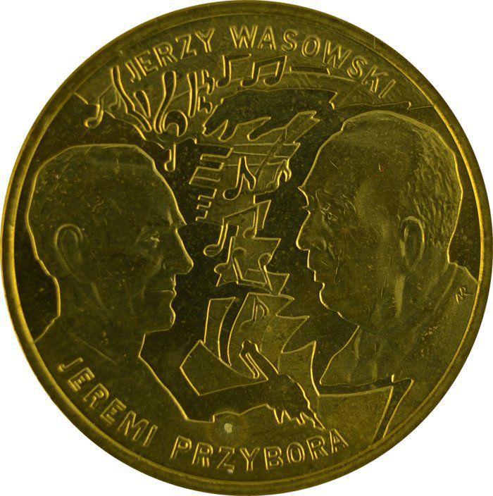 """Монета """"Иеремия Пшибора, Ежи Васовски"""""""