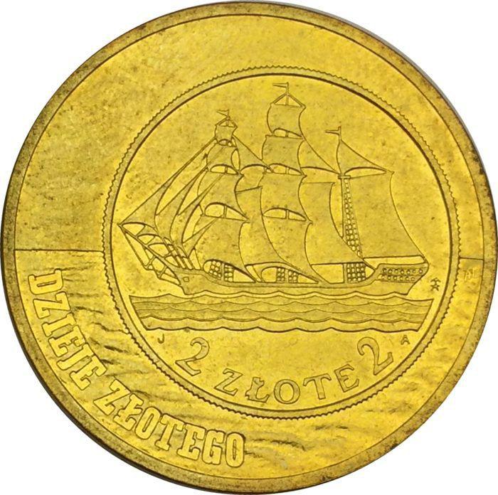 """Монета """"История злотого, 2 и 5 злотых 1936"""""""