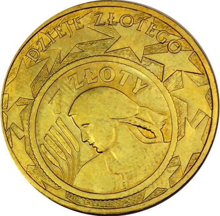 "Монета ""История злотого"""