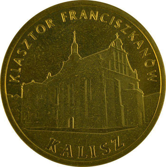 """Монета """"Монастырь францисканцев в Калише,"""