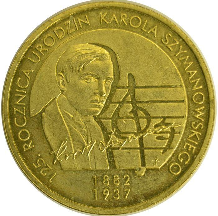 """Монета """"Кароль Шимановский"""""""