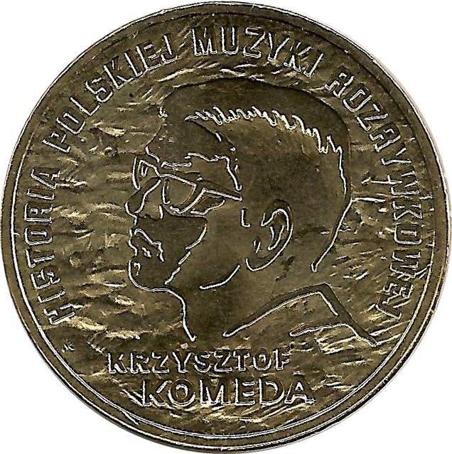 """Монета """"Кшиштоф Комеда"""""""