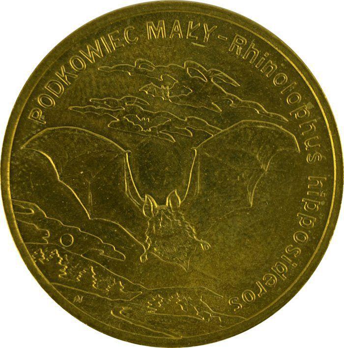 """Монета """"Малый подковонос"""""""