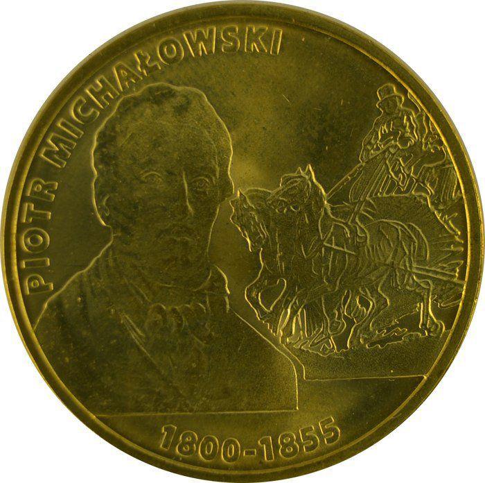 """Монета """"Петр Михайловский"""""""