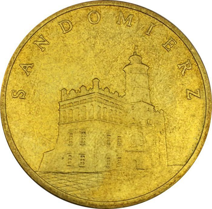 """Монета """"Сандомир"""""""