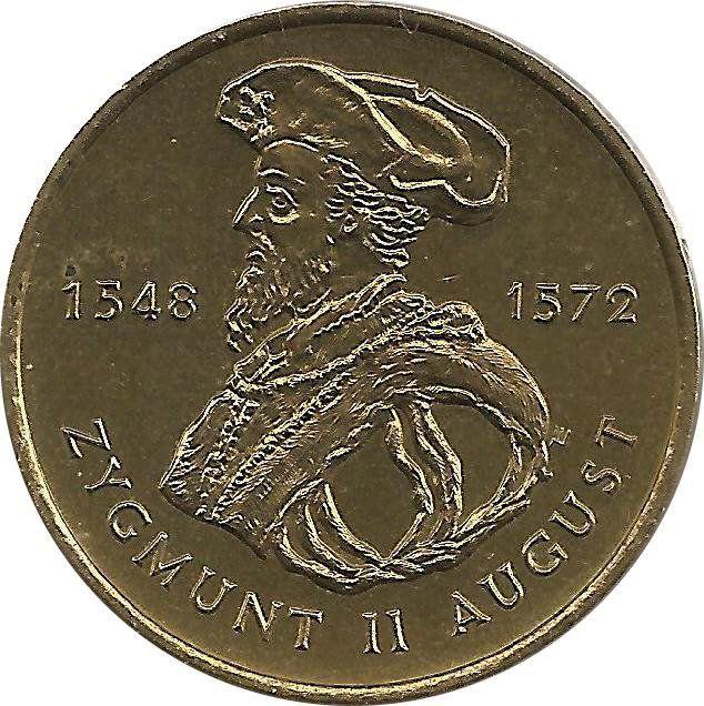 """Монета """"Сигизмунд II Август"""""""