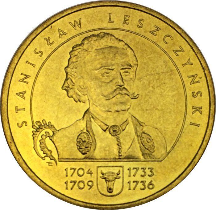 """Монета """"Станислав Лещинский"""""""