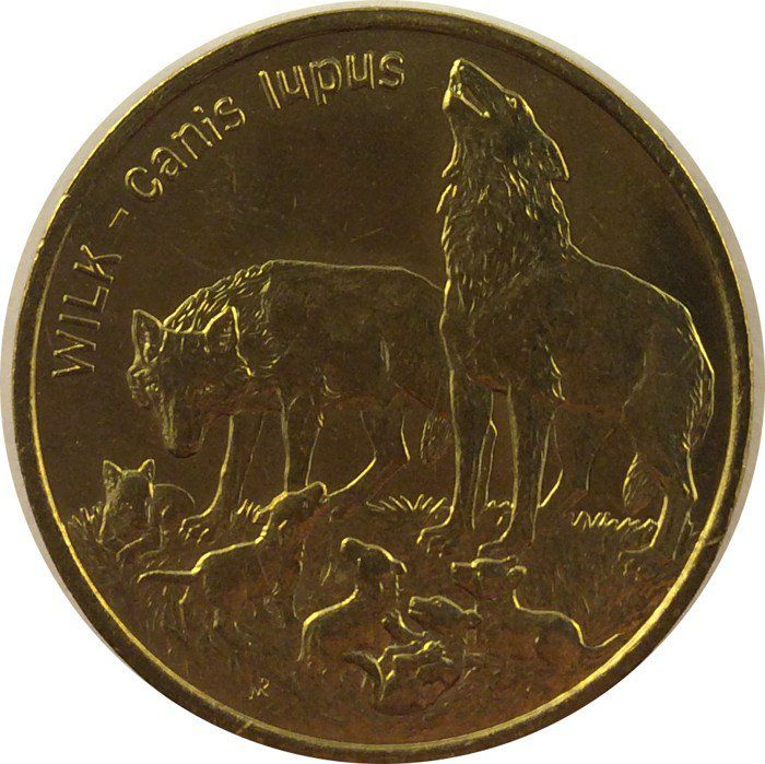"""Монета """"Волк"""""""