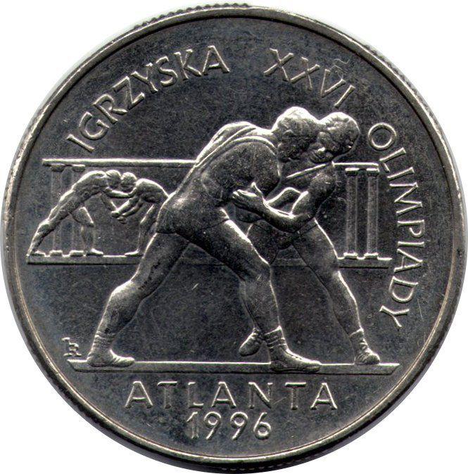 "Монета ""XXVI летние Олимпийские Игры, Атланта 1996"""