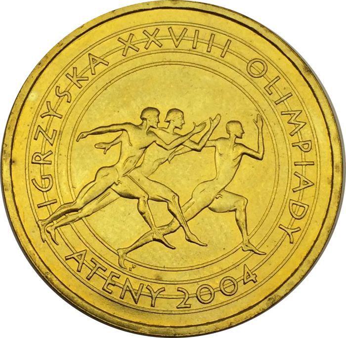 """Монета """"XXVIII летние Олимпийские игры, Афины"""""""