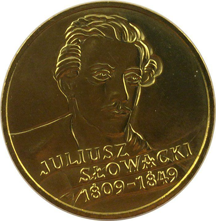 """Монета """"Юлиуш Словацкий"""""""