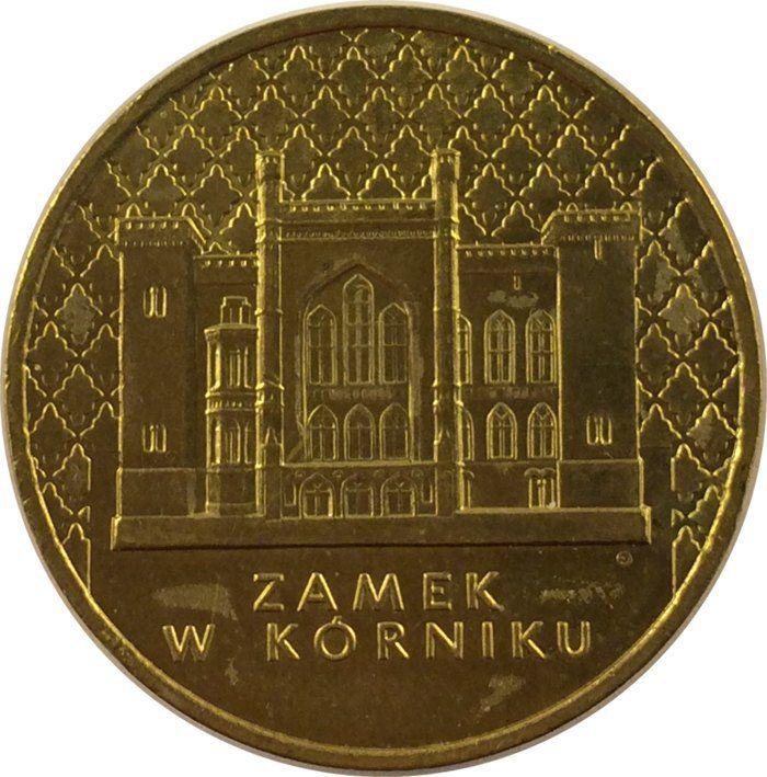 "Монета ""Замок в Курнике"""