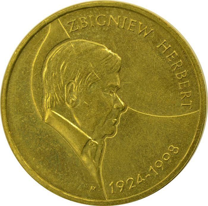 """Монета """"Збигнев Херберт"""""""