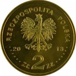 """Монета """"50 лет Польскому обществу помощи умственно отсталым"""""""