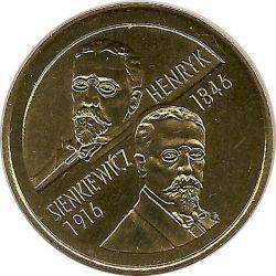 """Монета """"Генрик Сенкевич"""""""