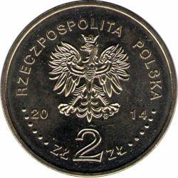 """Монета """"Польская олимпийская сборная в Сочи"""""""