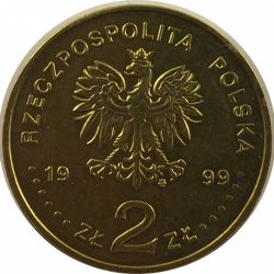 """Монета """"Вступление Польши в НАТО"""""""