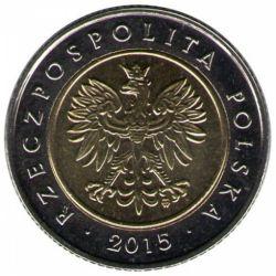 """Монета """"Ратуша в Познани,"""
